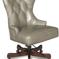 Grey Leather Desk Chair Mid Century Modern Chairs Toronto Primm Gray From Hooker Coleman Furniture