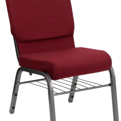 Cathedral Chairs Dining Chair Covers In India Hercules Series Burgundy Fabric Church From Renegade