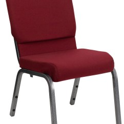 Stackable Church Chairs Kitchen Table And 6 Uk Hercules Series Burgundy Fabric Stacking Chair From