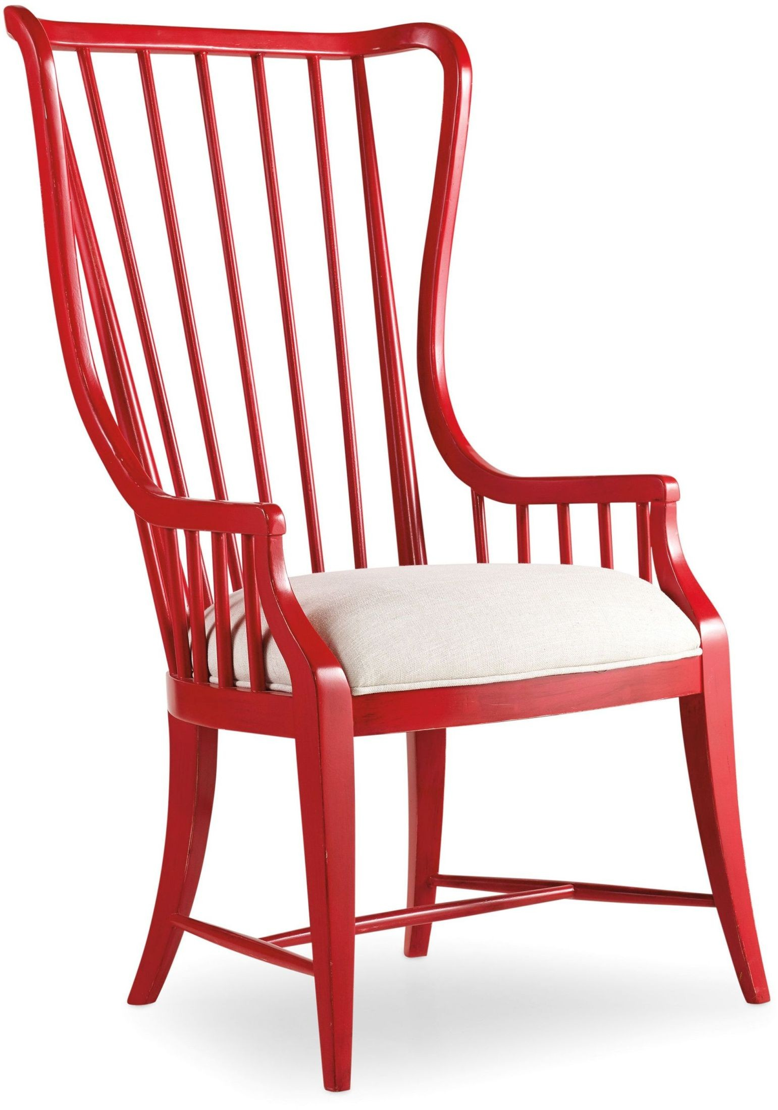 spindle arm chair 4 seater table and chairs sanctuary red tall set of 2 5404 75400