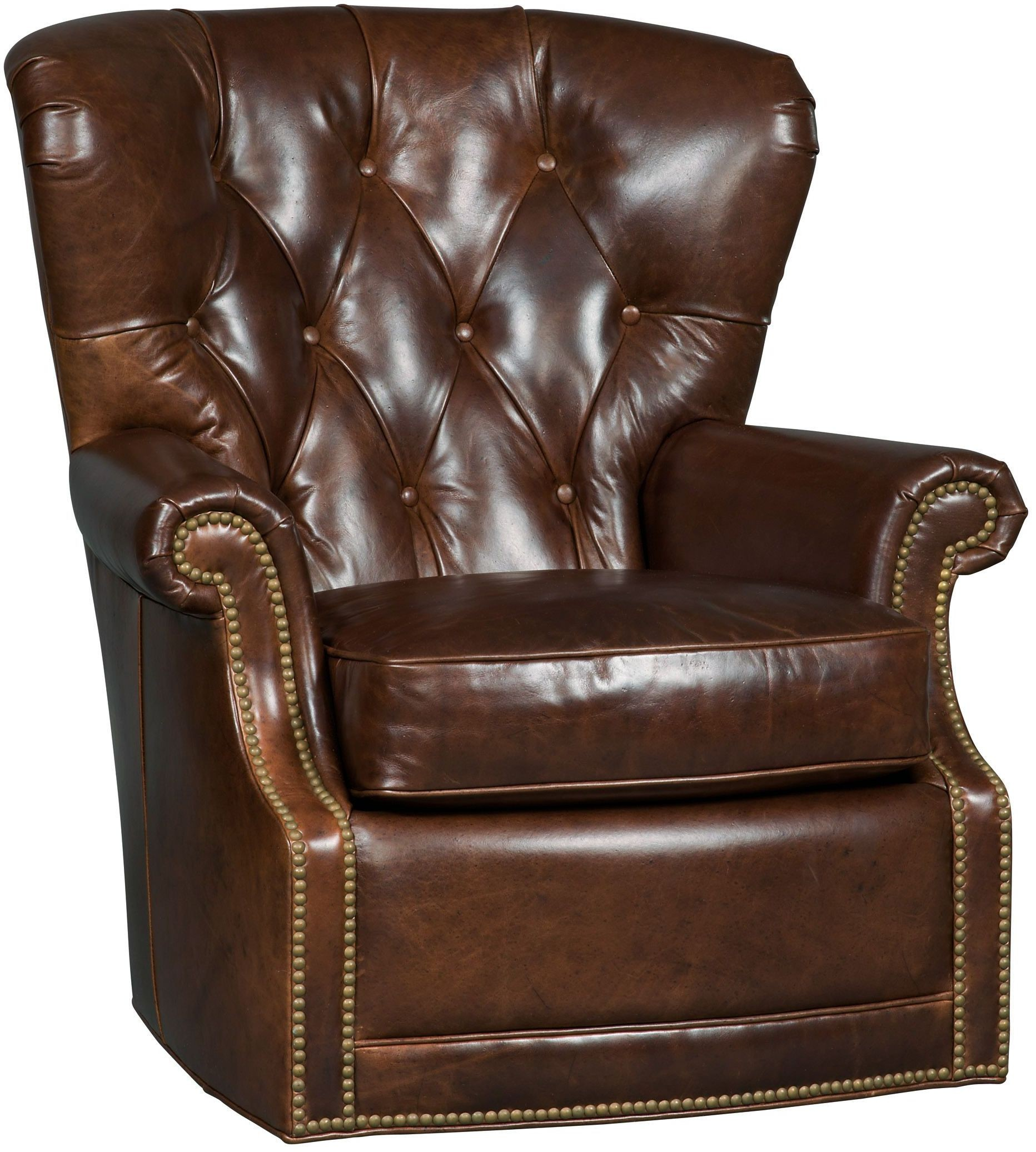 swivel chair brown baby beach chairs simon ss304 sw 087 hooker furniture