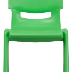Stackable Resin Chairs Green Round Back Swivel Chair 26 75 Quoth Plastic School From Renegade