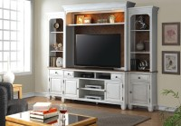 Camden White Entertainment Wall Unit from Legends ...