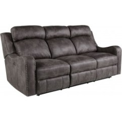 Grey Power Reclining Sofa Craigslist Seattle Couch Bankston Gray From Standard Furniture Coleman