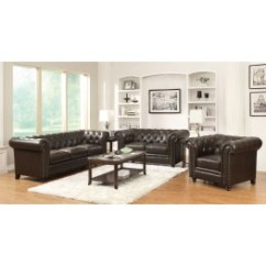 Traditional Sofa Sets Living Room Spiderman Set Coleman Furniture Roy Brown By Coaster