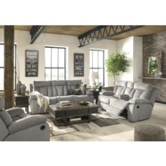 Recliner Living Room Set Storage Ideas For Toys Mitchiner Fog Reclining From Ashley Coleman Furniture