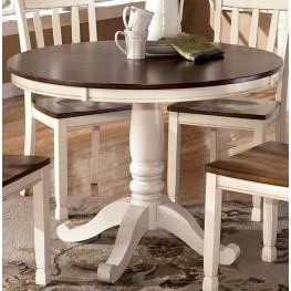 Whitesburg Round Dining Table from Ashley D58315B15T