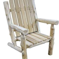 Unfinished Adirondack Chair Best Outdoor Rocking Chairs 2018 Voyageur From Fireside Lodge Coleman Furniture