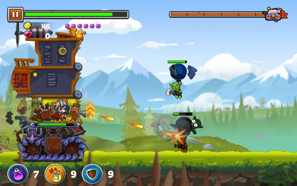 REVIEW_MOB_MONSTER MANIA TD 5