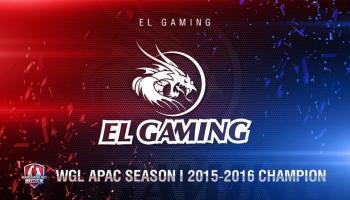 EL Gaming vô địch giải đấu Wargaming.net League APAC Season 2015-2016