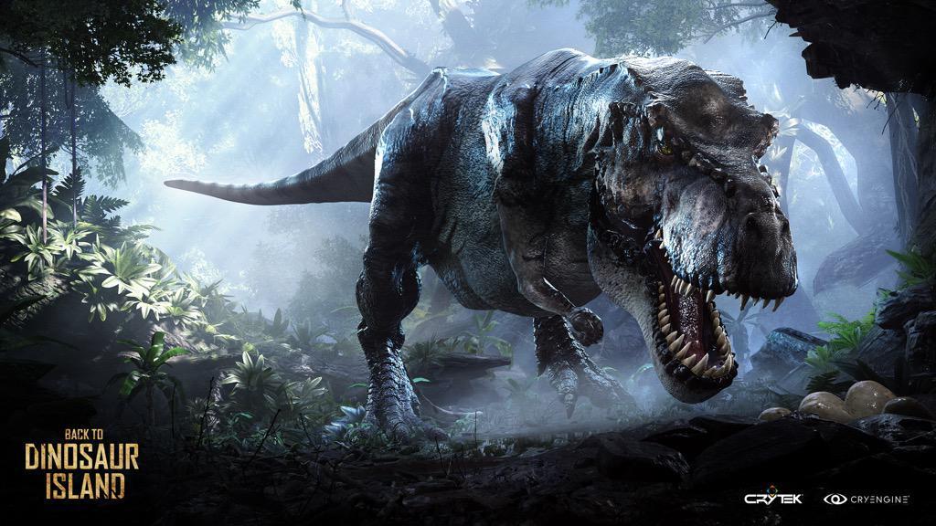 "Crytek tung bản demo game thực tế ảo ""Back to Dinosaur Island"" lên Steam"
