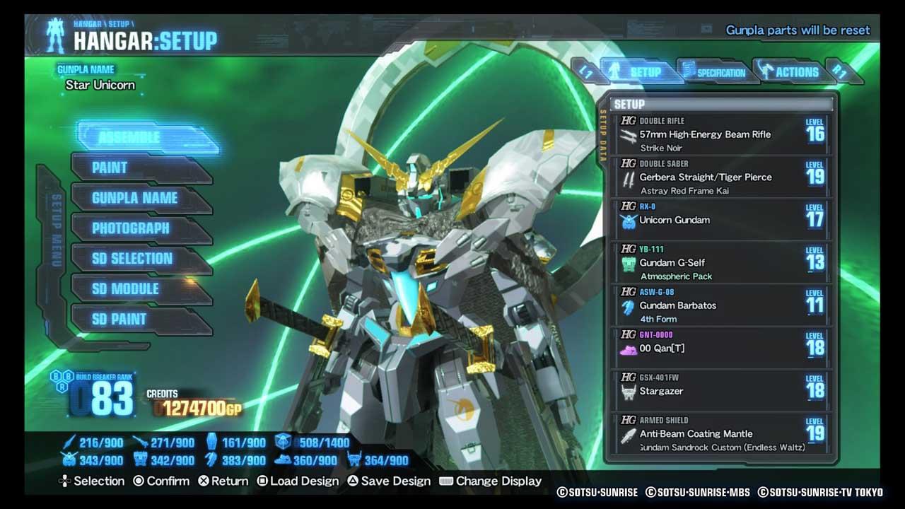 Gundam Breaker 3 - Đánh Giá Game