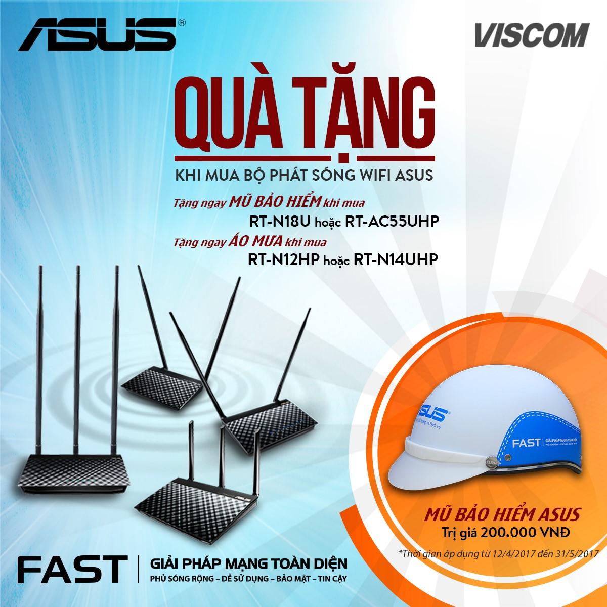 """Mua Router ASUS - Nhận quà thật """"cool"""""""