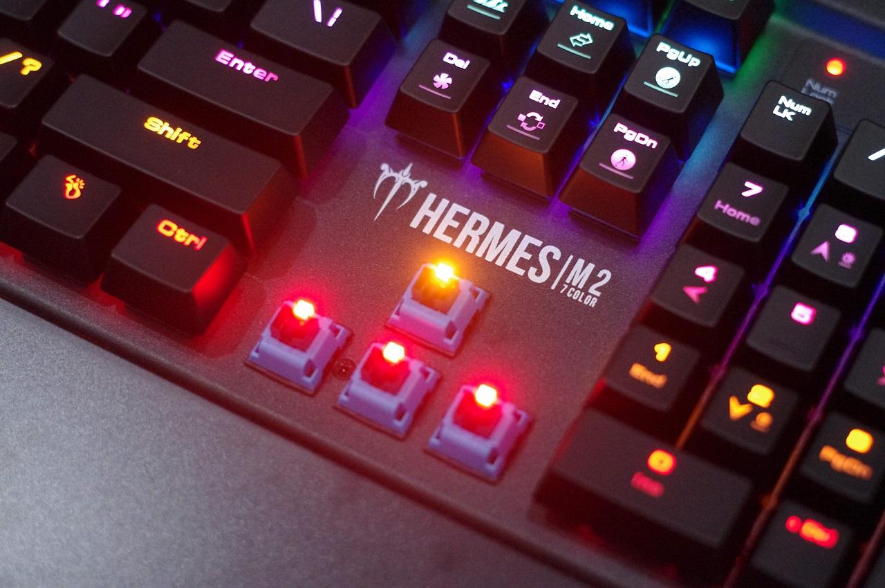GAMDIAS Hermes M2 7 Color - Lướt phím tốc độ ánh sáng?