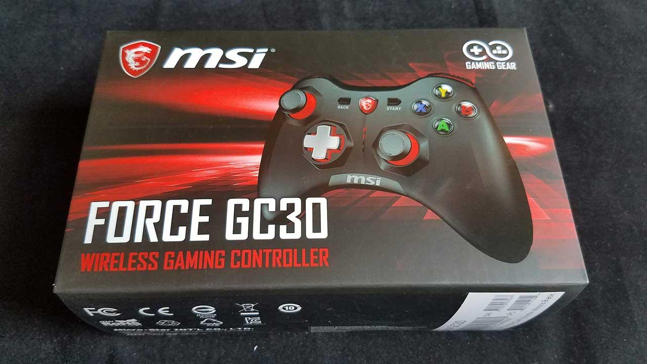 MSI Force GC30 - Đáp ứng mọi nhu cầu