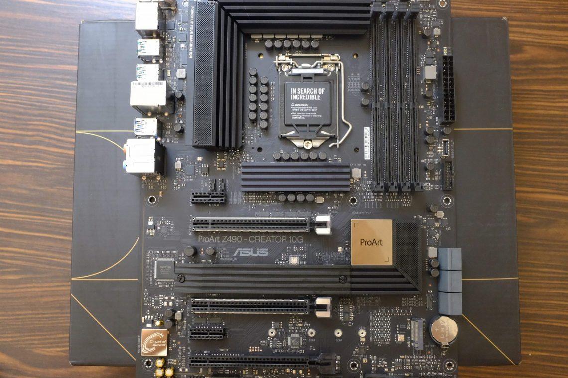 ASUS ProArt Z490-Creator 10G - Đánh Giá Nhanh
