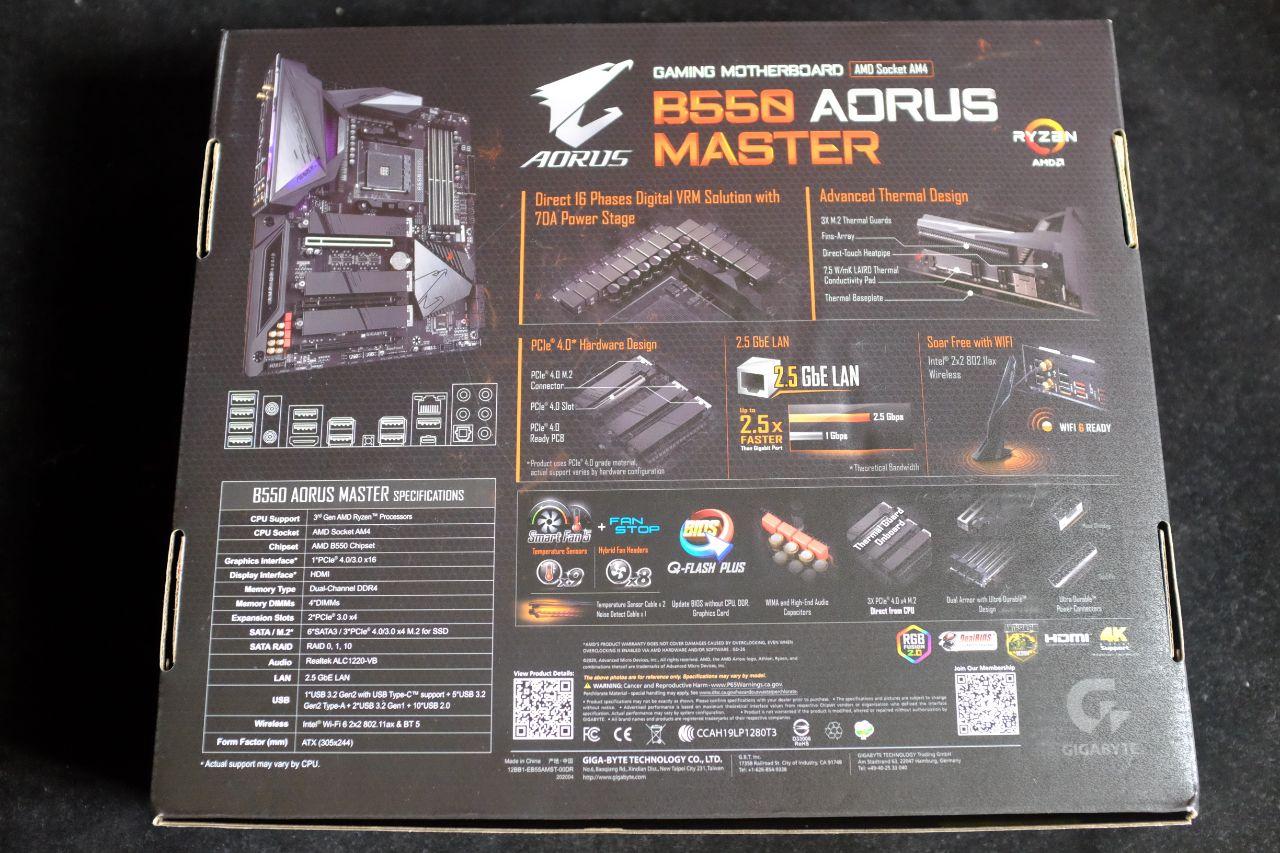 AORUS B550 Master - Đánh Giá Nhanh