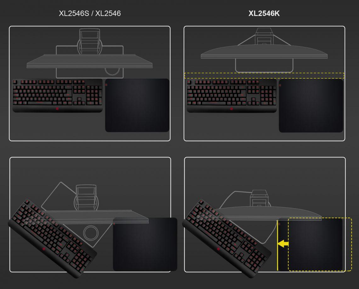 BenQ ZOWIE công bố màn hình Esports Gaming thế hệ mới XL-K Series