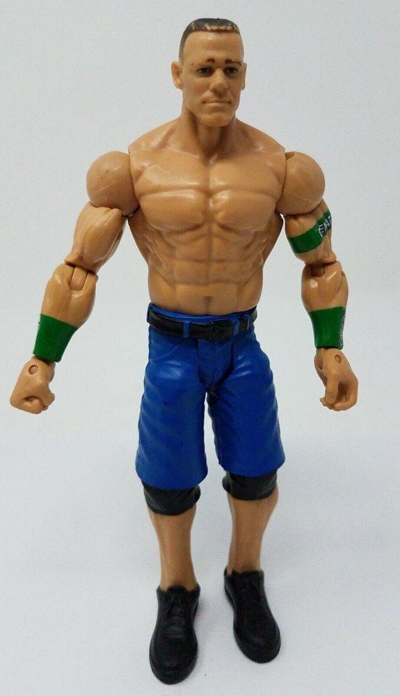 Wwe Wrestling John Cena Green Arm Bands 7 Action Figure 2012 Mattel