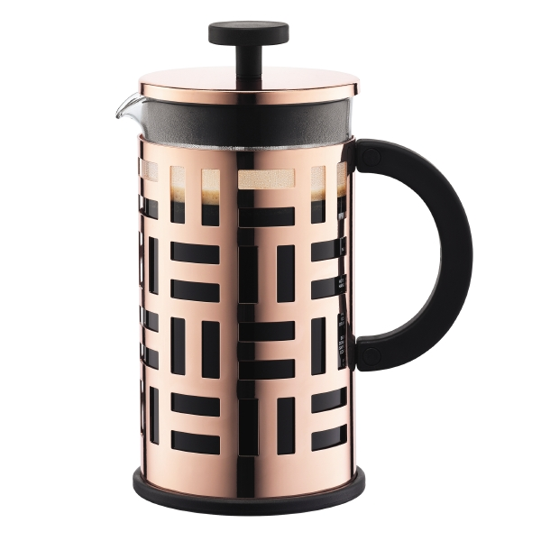 EILEEN: French Press coffee maker, 8 cup, 1.0 l, 34 oz, s/s