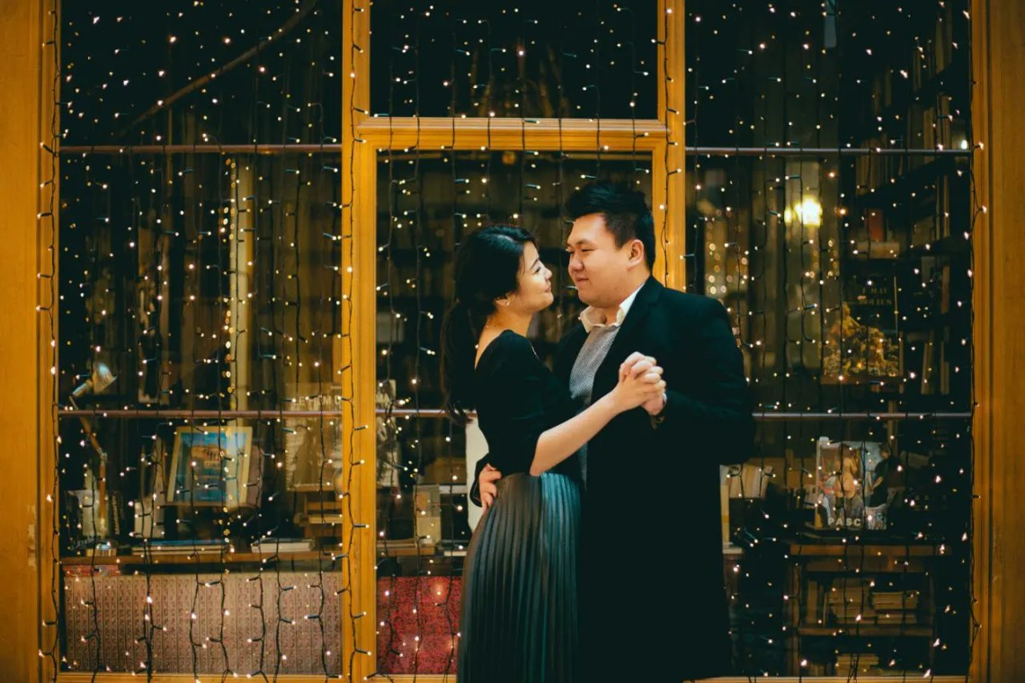 Jessica and Gary - Pre-wedding photography in Paris