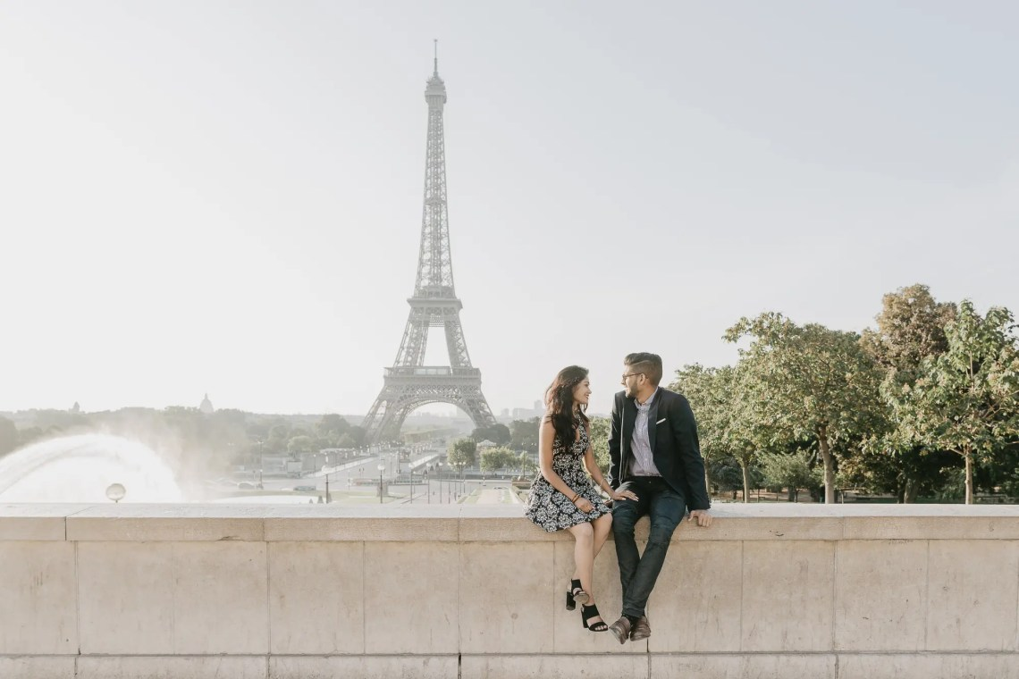 Engagement Paris Photography Eiffel tower