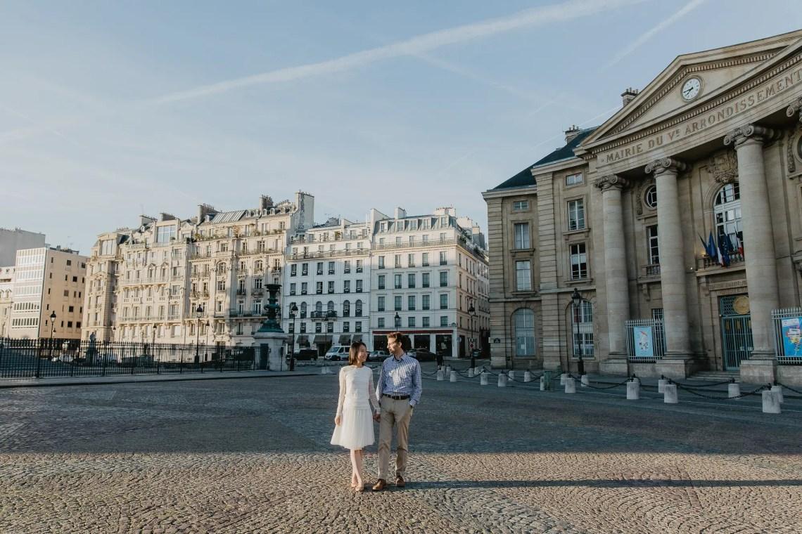 Hidden Paris Pantheon early morning