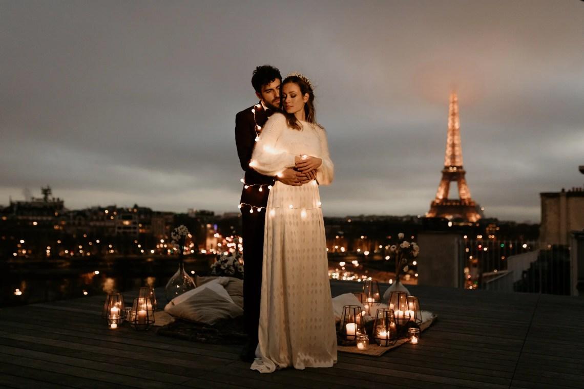 paris wedding night photography eiffel tower