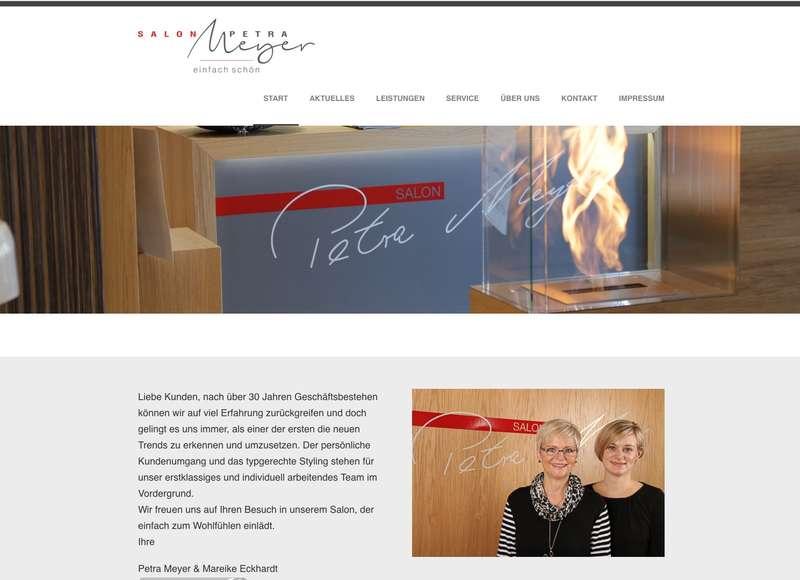 Salon Petra Meyer Friseur Styling fr Damen und Herren in