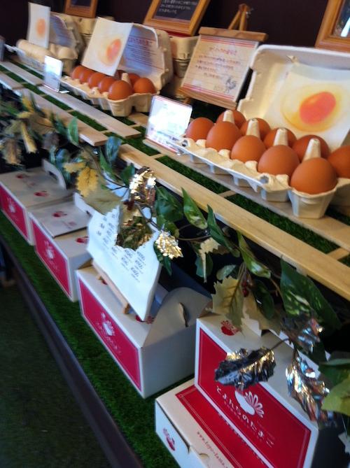 豊和養鶏場の卵