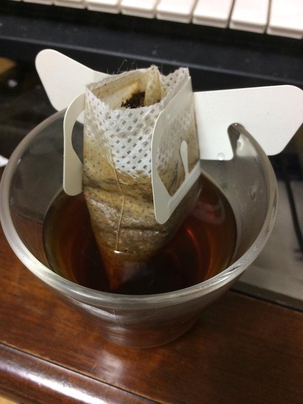 ブルックスのドリップコーヒー