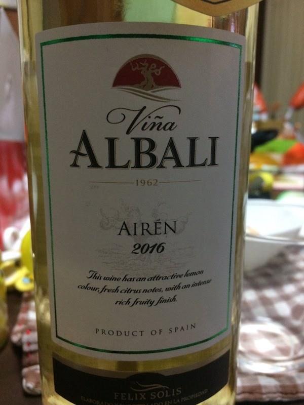 ヴィニャ・アルバリ・アイレン 白 Viña Albali Airen