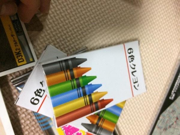 6色クレヨン