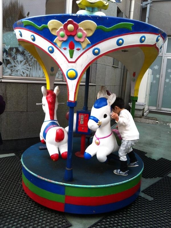 壬生町おもちゃ博物館には子供が喜ぶ仕掛けがたくさん