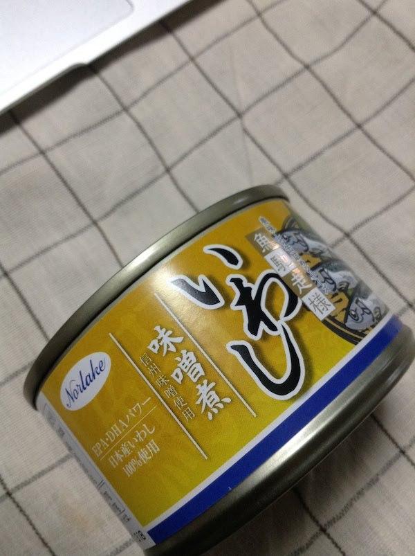 ノルレェイク 美味しい缶詰シリーズ 魚馳走様 いわし味噌煮