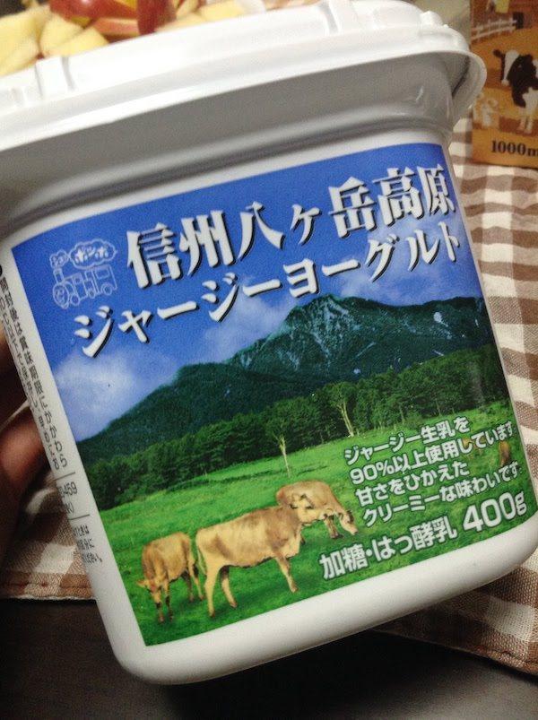 ヤツレンの信州八ヶ岳高原ジャージーヨーグルトは美味しい。おすすめ