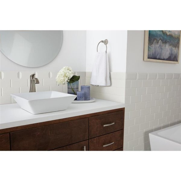 american olean 6 in x 3 in starting line matte white ceramic wall subway tile