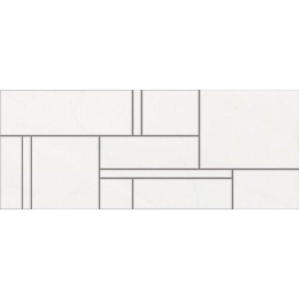 della torre 8 in x 20 in bastia white ceramic wall subway tile