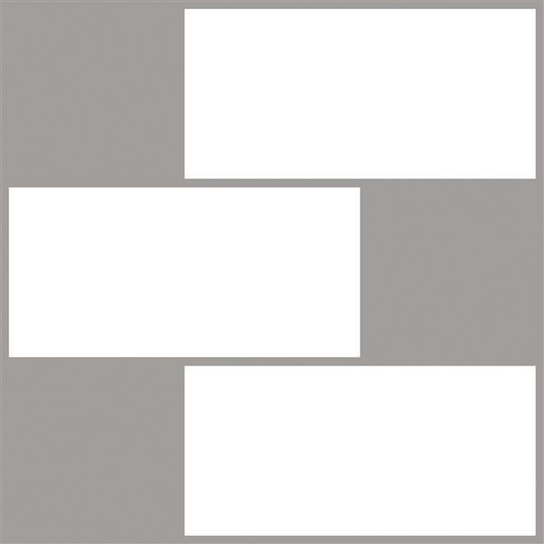 Wallpops Subway Peel Stick Backsplash Tiles 10 In X 10 In Lowe S Canada
