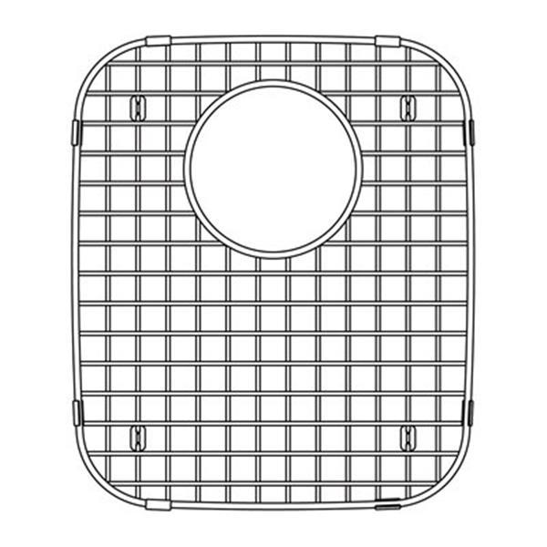 blanco 13 75 in x 12 in stainless steel sink grid