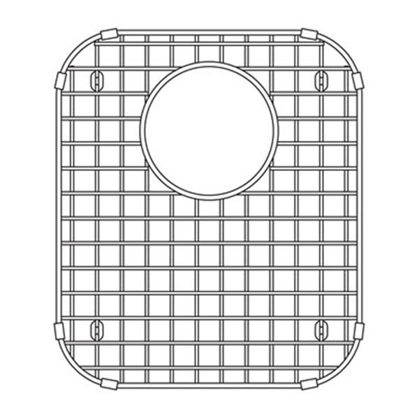 blanco vision 14 in x 11 75 in stainless steel sink grid