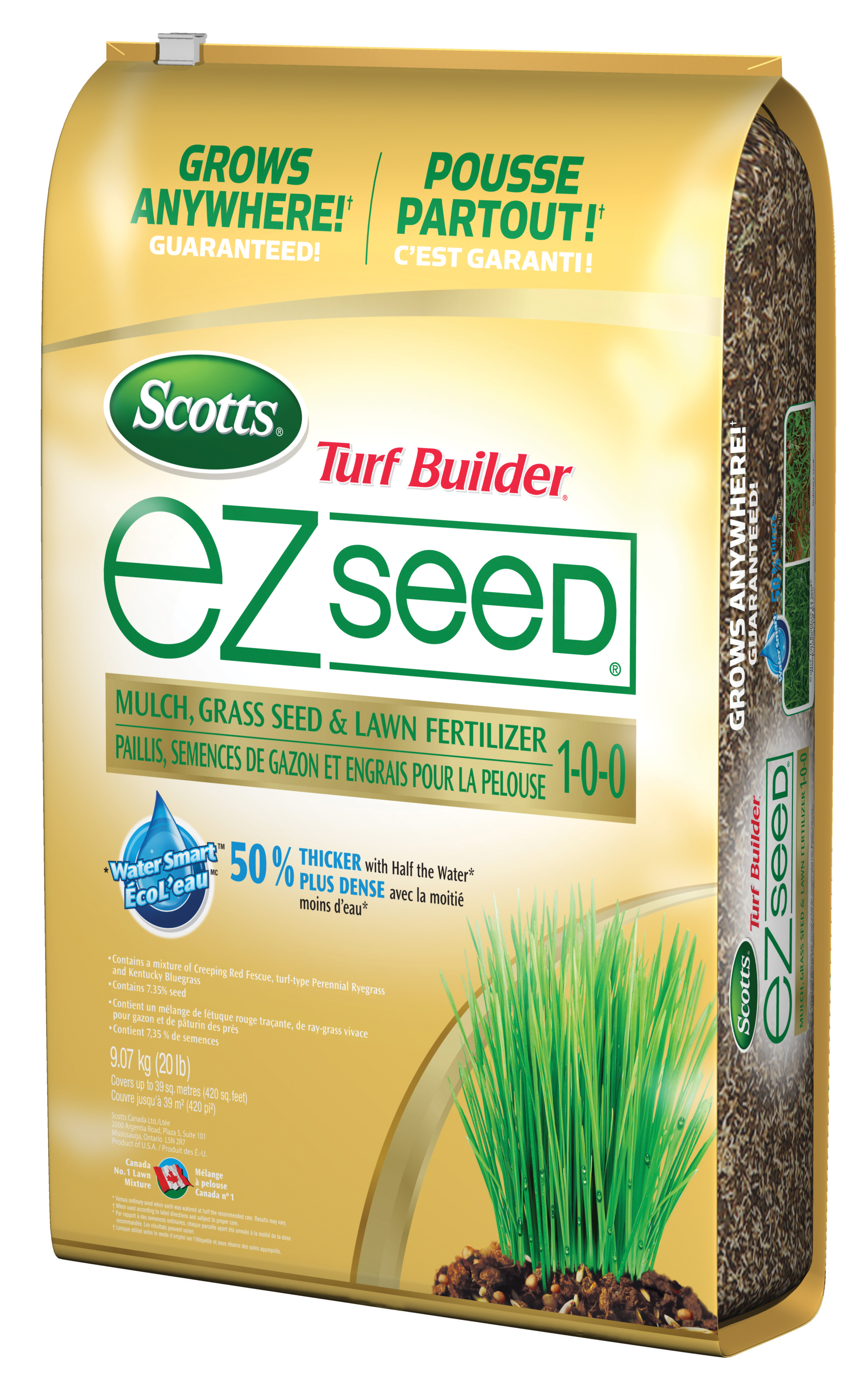 Thick R Lawn Lowes : thick, lowes, Scotts, Builder, 22.5-lb, EZseed, Grass, Lowe's, Canada