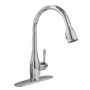 aquasource 1 handle pull down kitchen faucet
