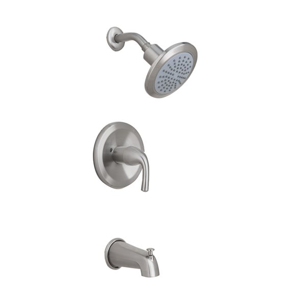 aquasource 1 handle tub and shower faucet