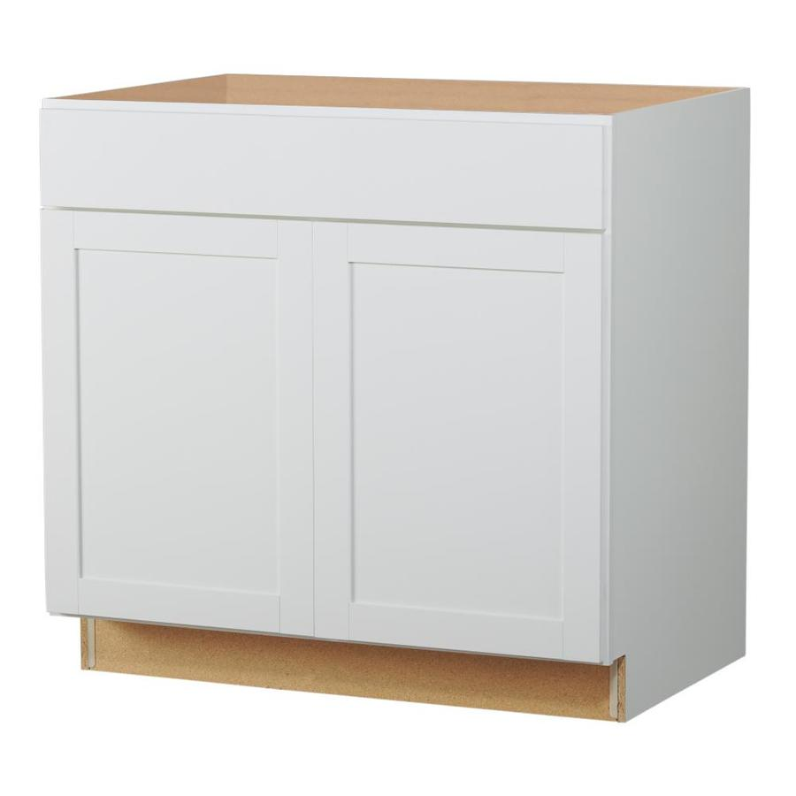 diamond now arcadia 36 in sink base cabinet