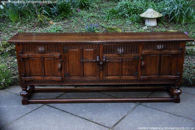 nigel rupert griffiths oak dresser base sideboard hall table for sale in uttoxeter staffs preloved