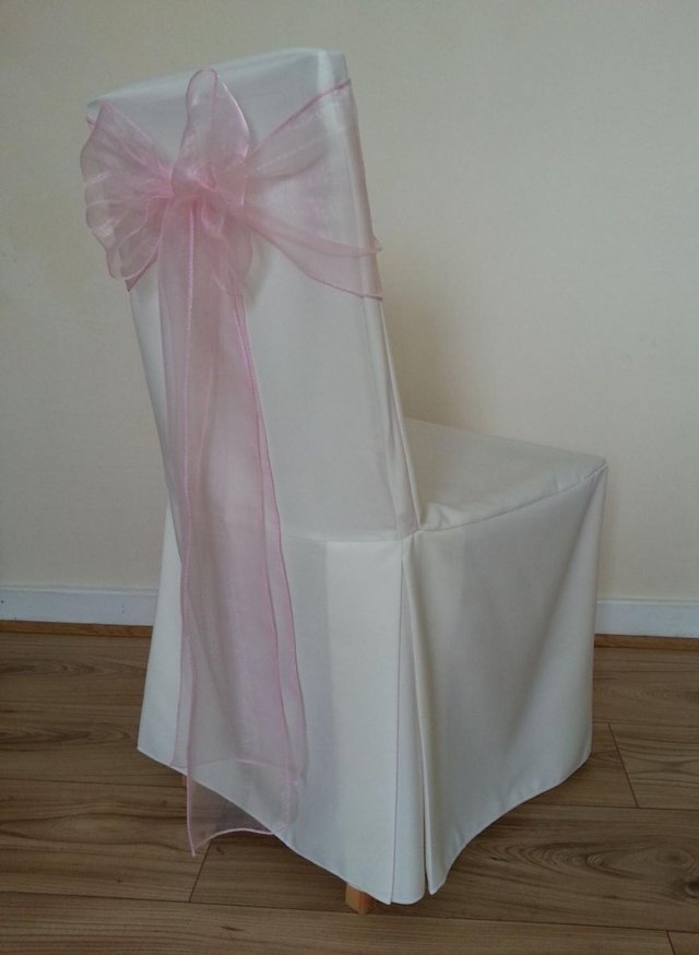 chair cover and sash hire birmingham table set walmart wedding covers local classifieds buy sell in 80x ivory linen these have pleats are quality made very elegant looking adds that special touch to your chairs for occasion