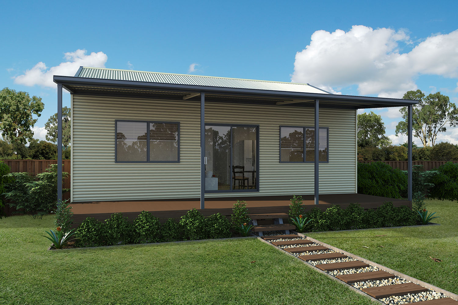 Build your own stylish steel kit homes  Completehome
