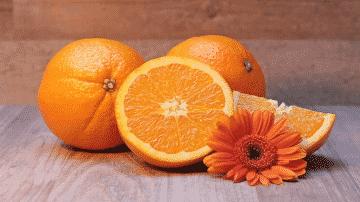 comment manger une orange