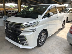toyota all new vellfire 2.5 zg edition camry 2018 thailand carsifu car news reviews previews classifieds price guides 2 5 s roof